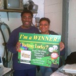 Congratulations to Our Latest Winner, MR. AND MRS. DAVENPORT!