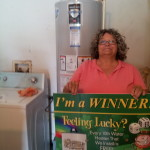 Congratulations to Our Latest Winner, MS. SANDRA HOWARD!