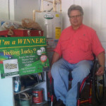 Congratulations to Our Latest Winner, Mr. Gordon!