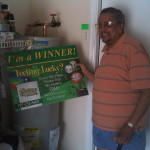 Congratulations to Our Latest Winner, Mr. and Mrs. Sablo!
