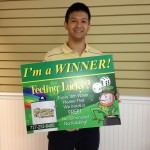 Congratulations to Our Latest Winner, Mr. Hsi!