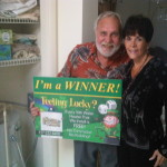 Congratulations to Our Latest Winner, Mr.and Mrs. Wolkins!