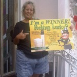 Congratulations to Our Latest Winner, Mrs Arnold!