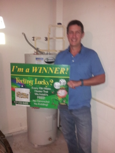 1 in 10 water softener winner